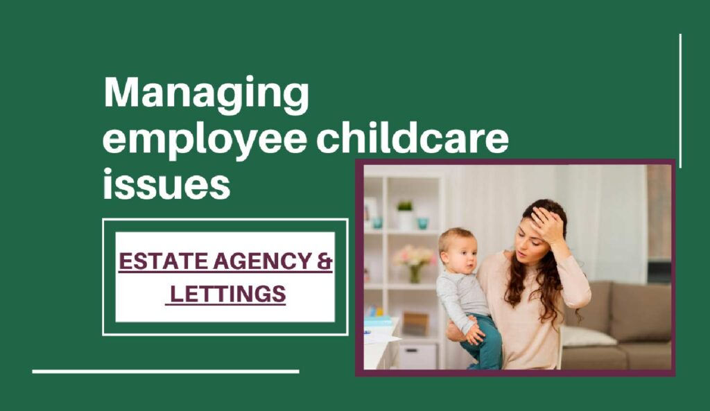 Managing employee childcare issues